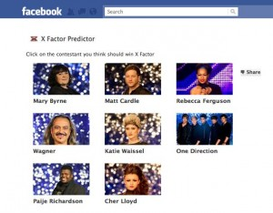 X Factor Predictor