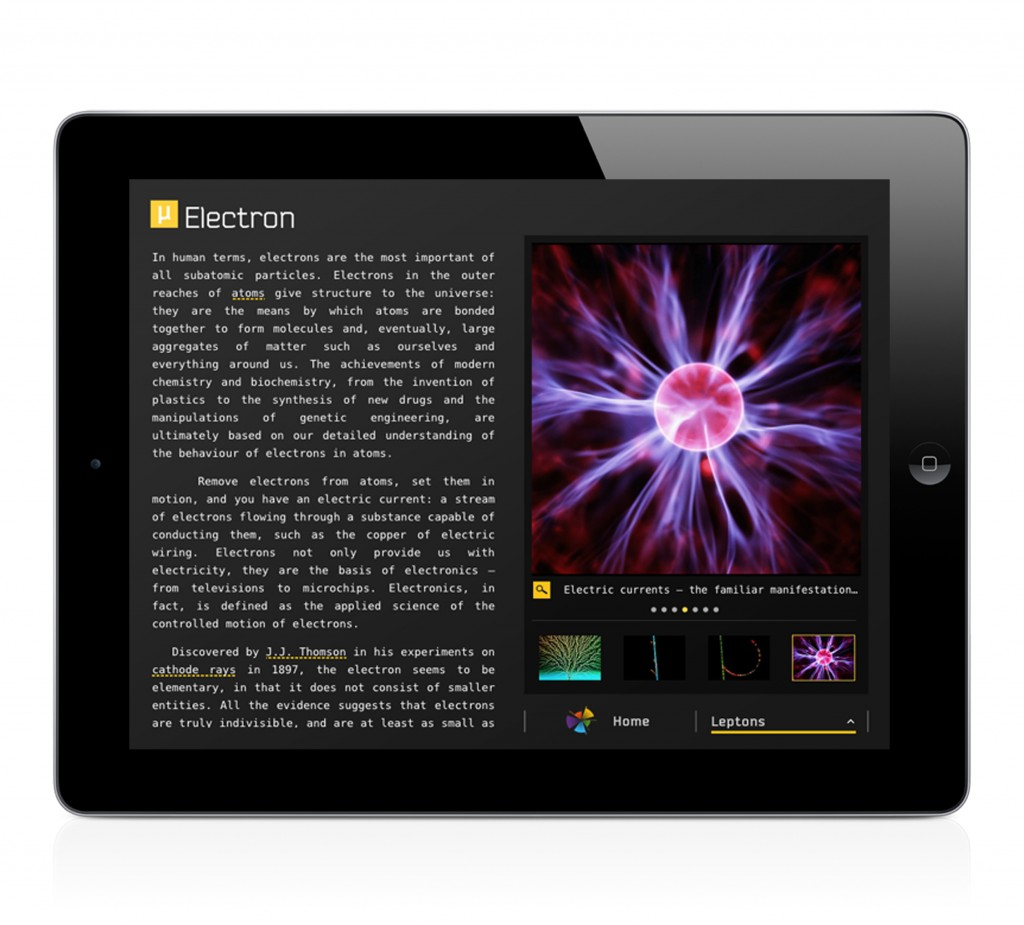 The Particles for iPad - Electron